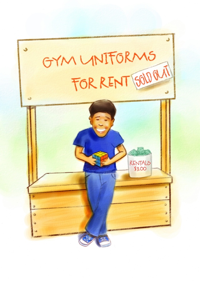 Gym Uniforms ~ Sold Out