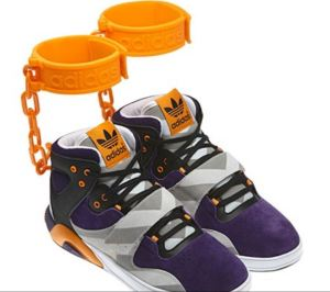 Sneakers or felony shoes