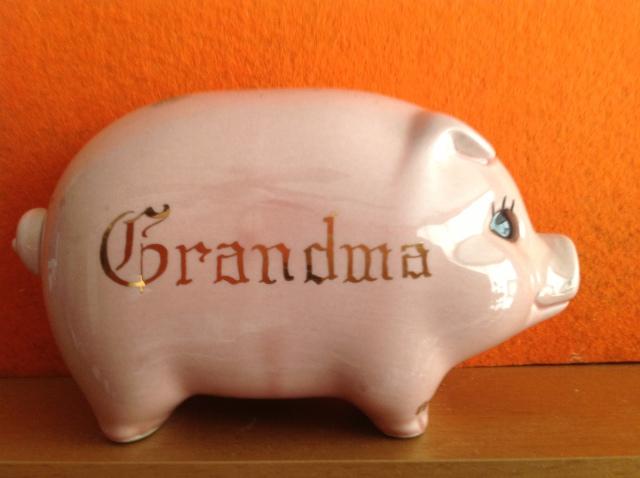 Grandma Piggy Bank